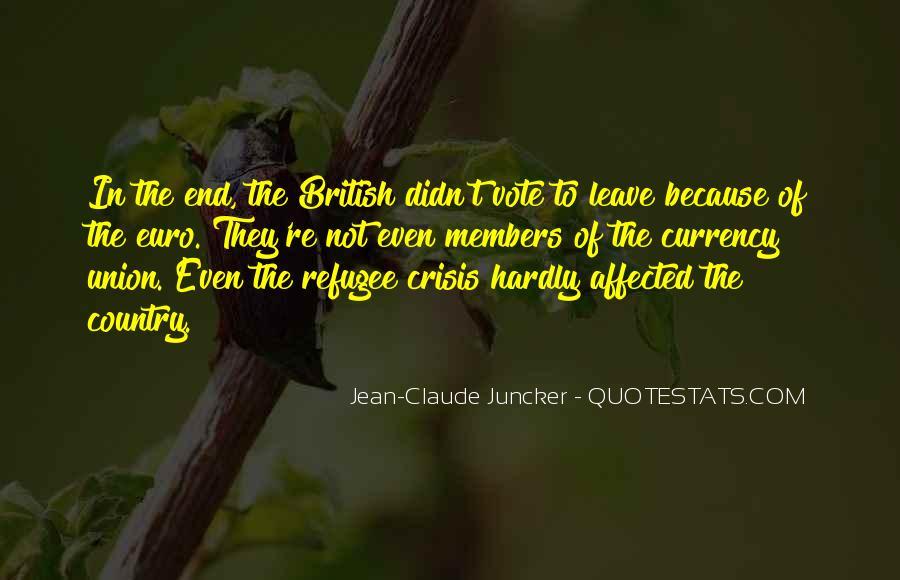 Claude Juncker Quotes #1346885