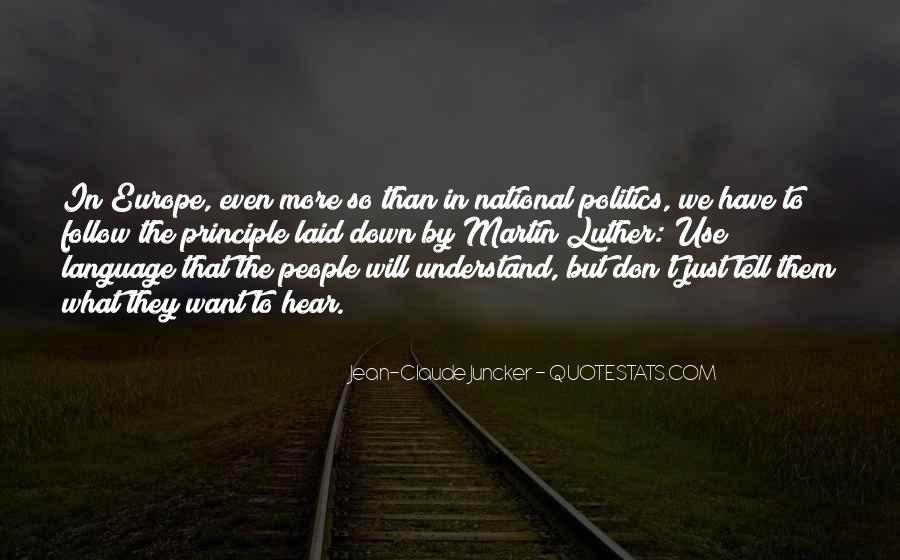Claude Juncker Quotes #156560
