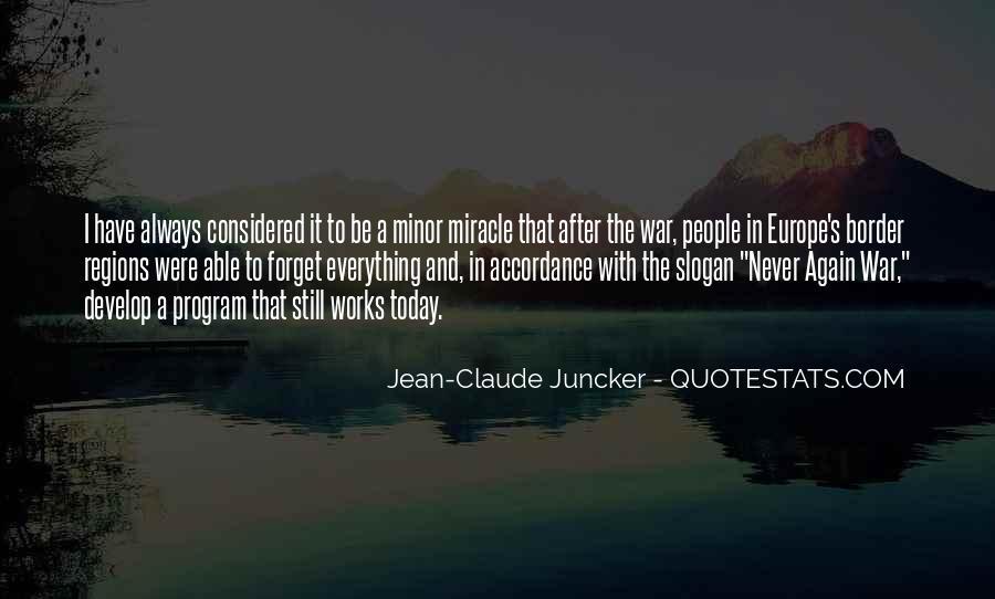 Claude Juncker Quotes #954530