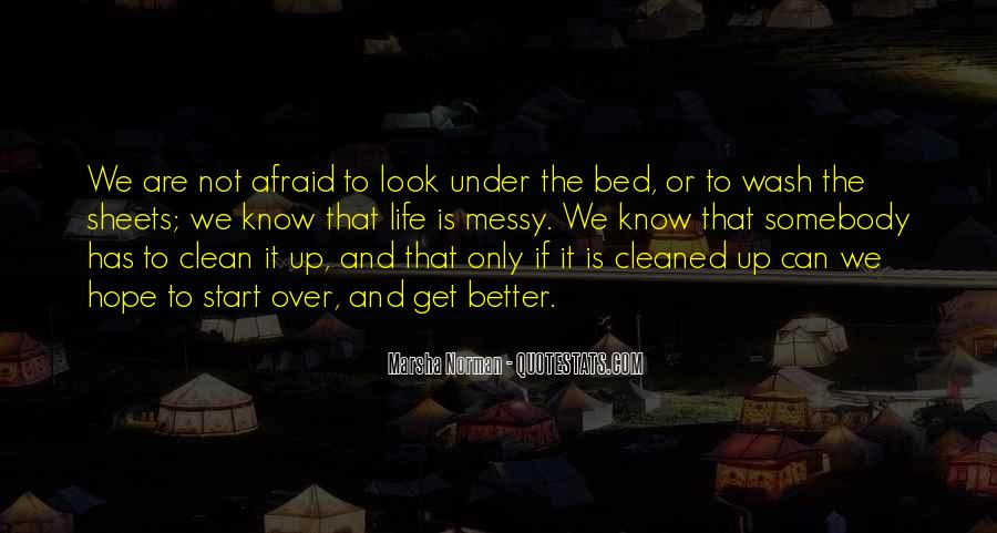 Clean Bed Sheets Quotes #933540