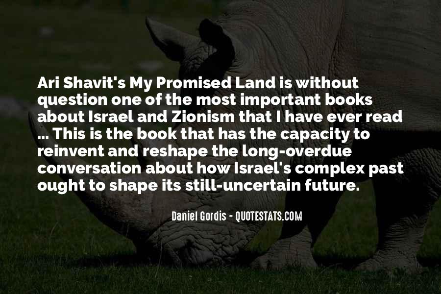 Quotes About The Promised Land #1124417