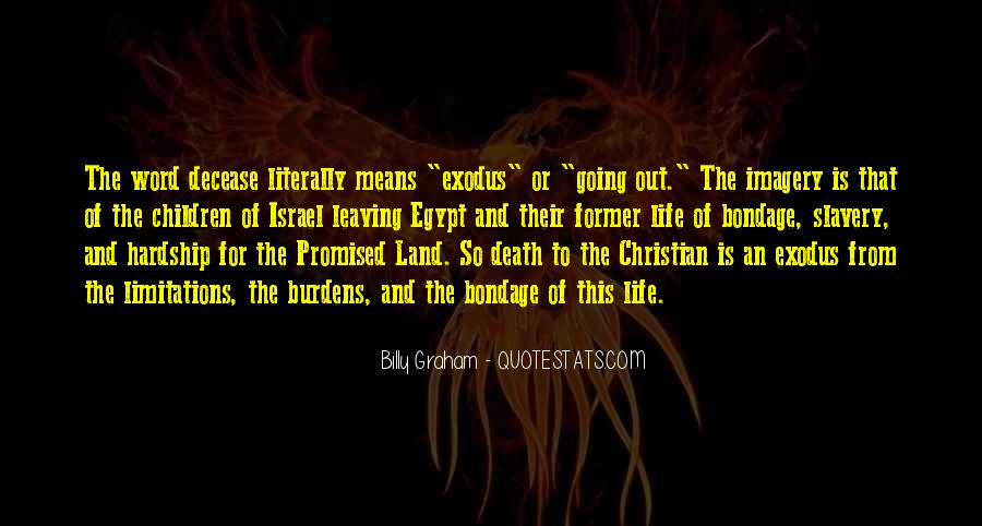 Quotes About The Promised Land #1326738