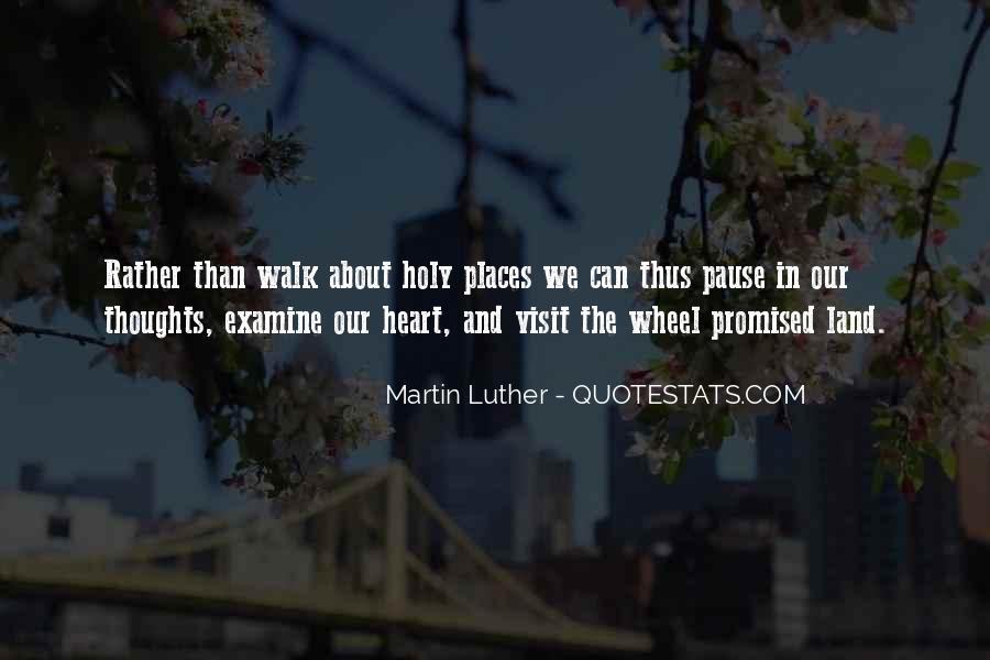 Quotes About The Promised Land #1358517