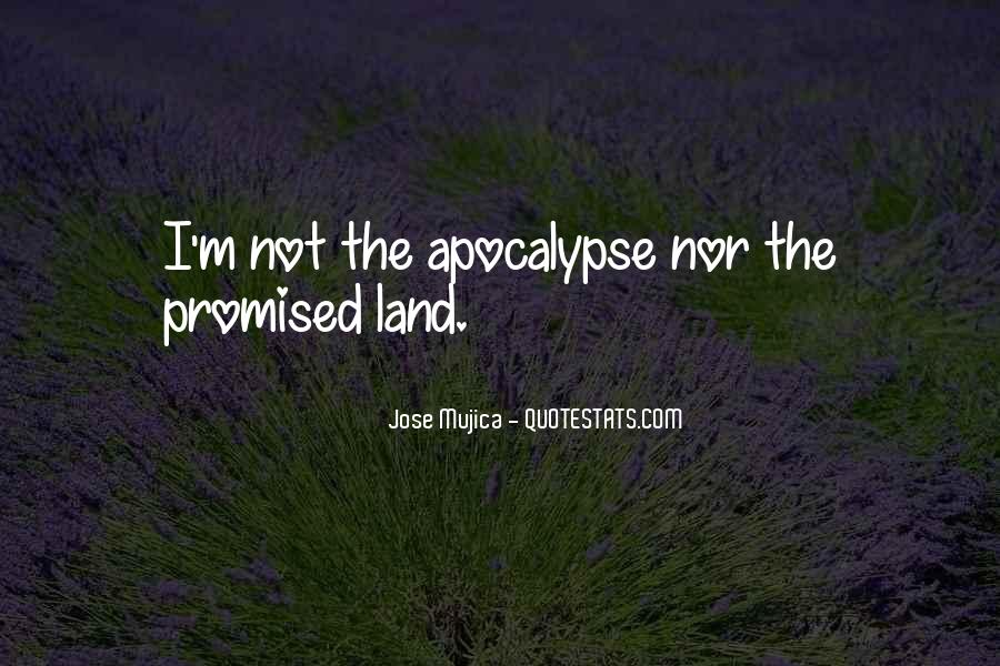 Quotes About The Promised Land #1443809
