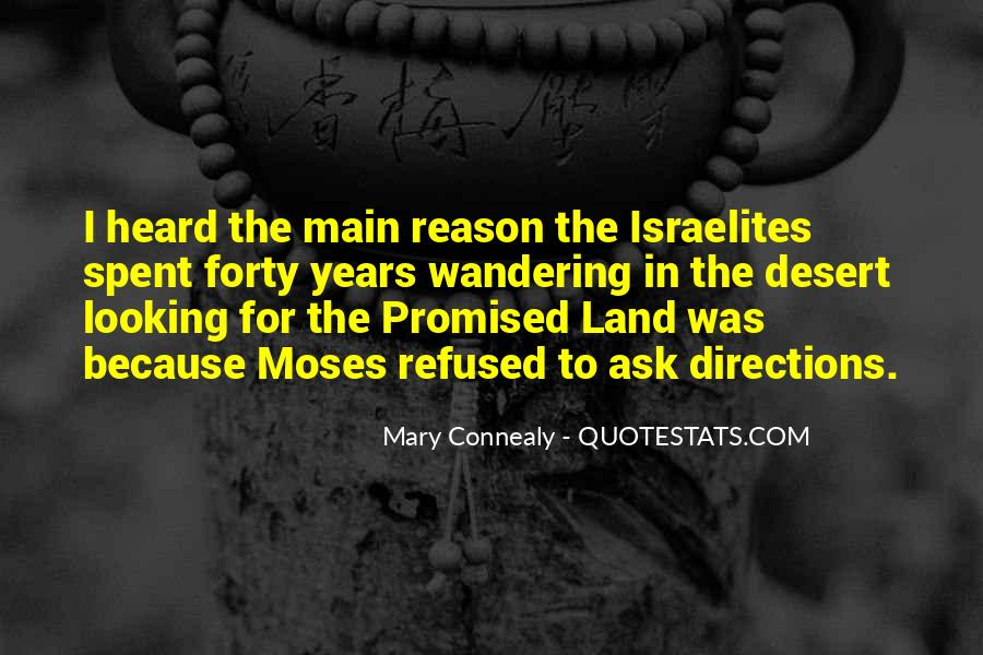 Quotes About The Promised Land #1466998