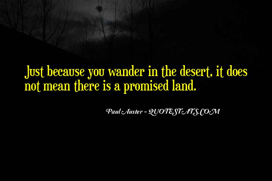 Quotes About The Promised Land #1650720