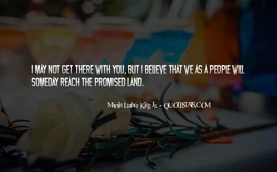 Quotes About The Promised Land #1660889