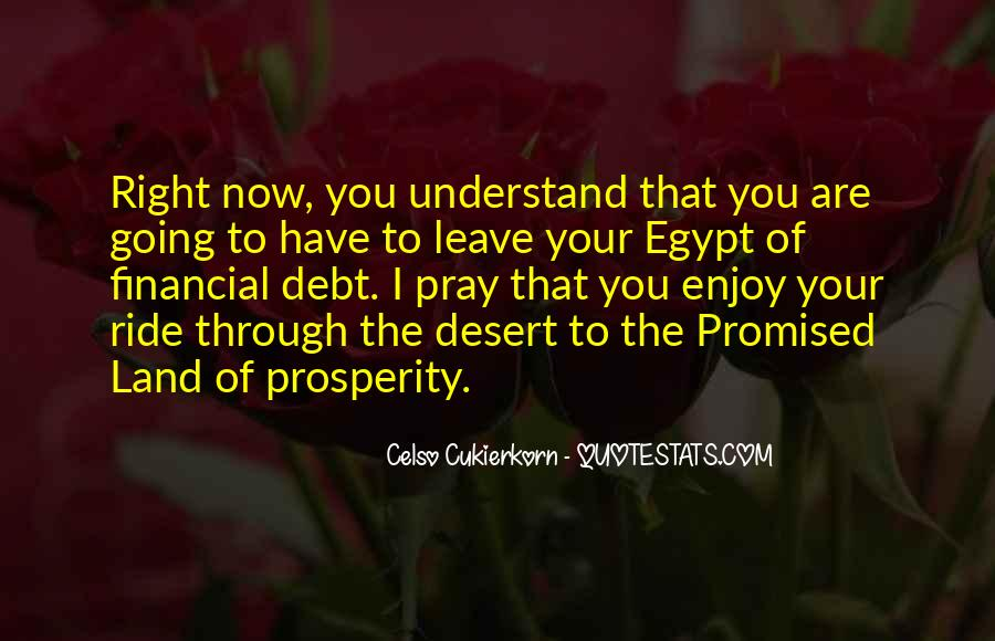 Quotes About The Promised Land #252614