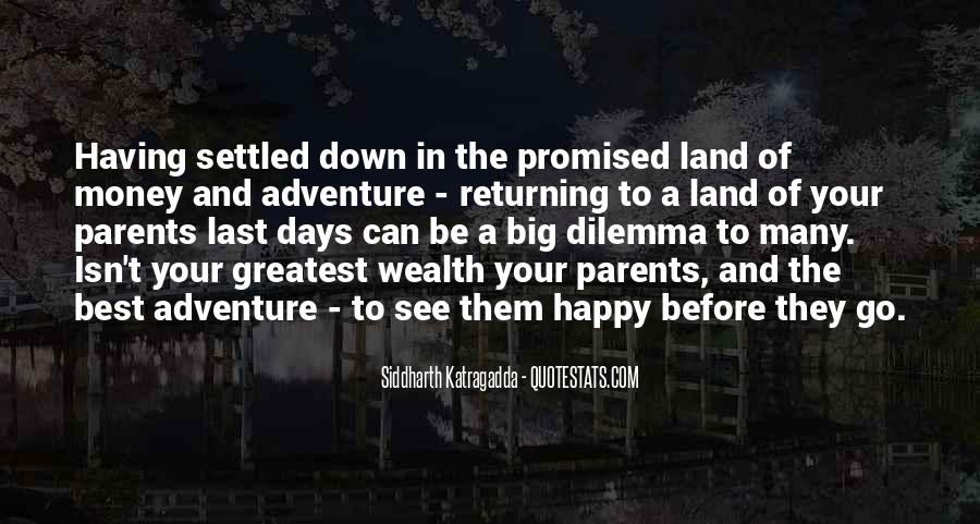Quotes About The Promised Land #303903