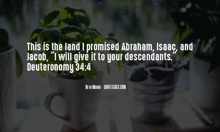 Quotes About The Promised Land #304575