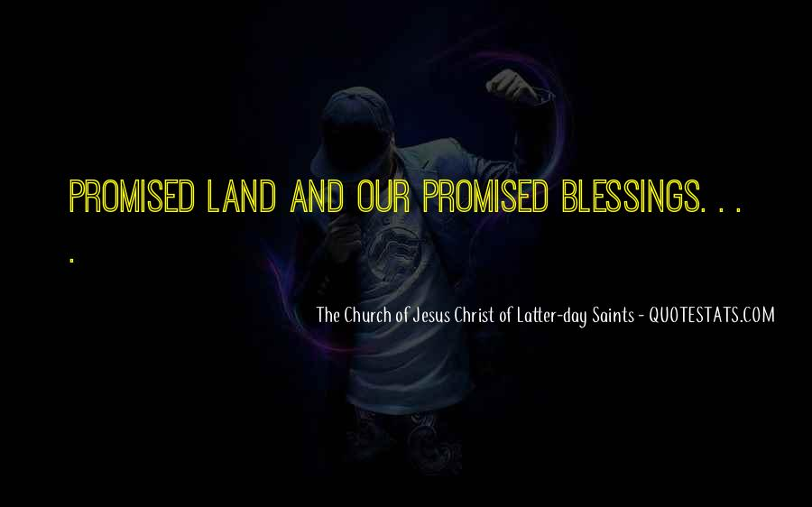 Quotes About The Promised Land #382184