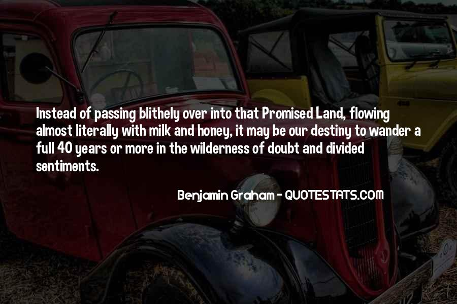 Quotes About The Promised Land #482951