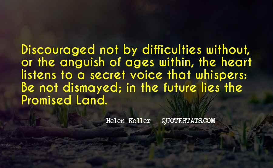 Quotes About The Promised Land #496184