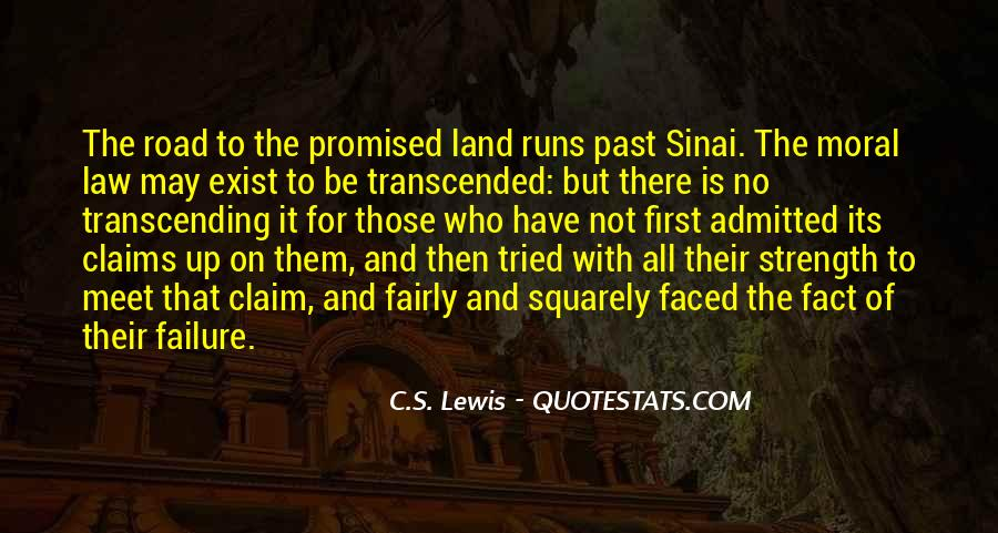Quotes About The Promised Land #595050