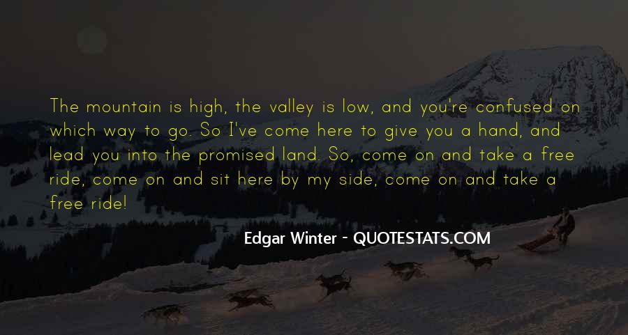 Quotes About The Promised Land #706706