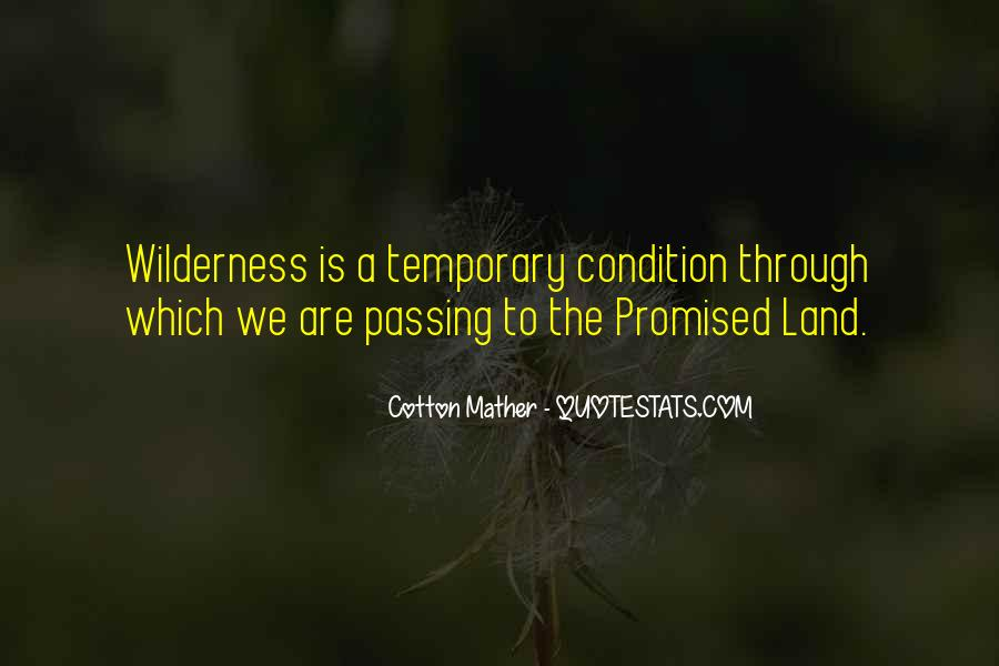 Quotes About The Promised Land #812190