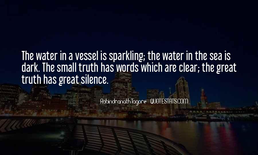 Clear Sea Water Quotes #1518057