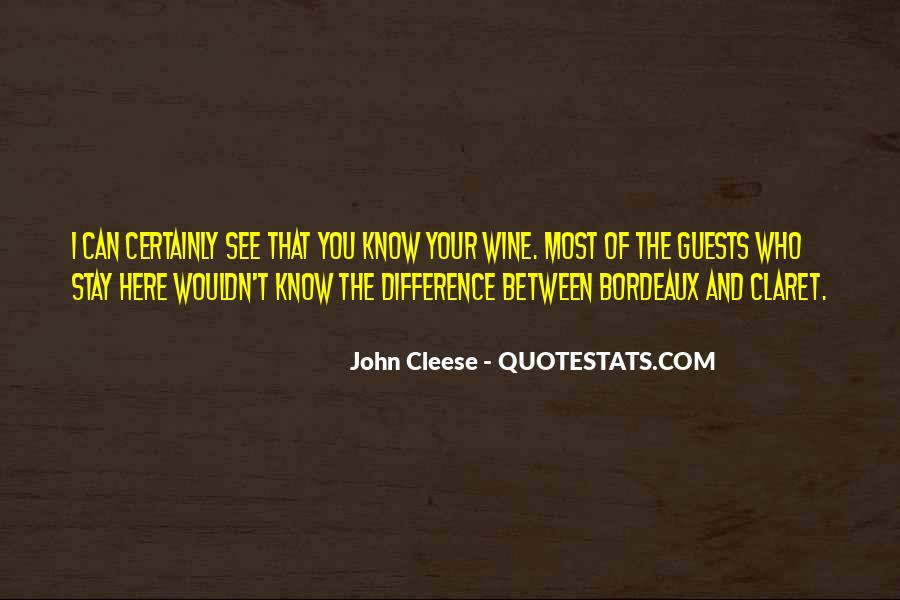 Cleese Quotes #330282