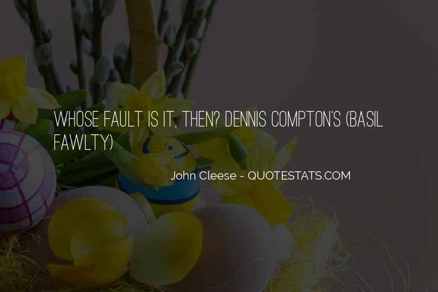 Cleese Quotes #495403