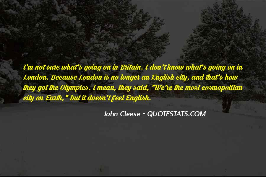 Cleese Quotes #630354