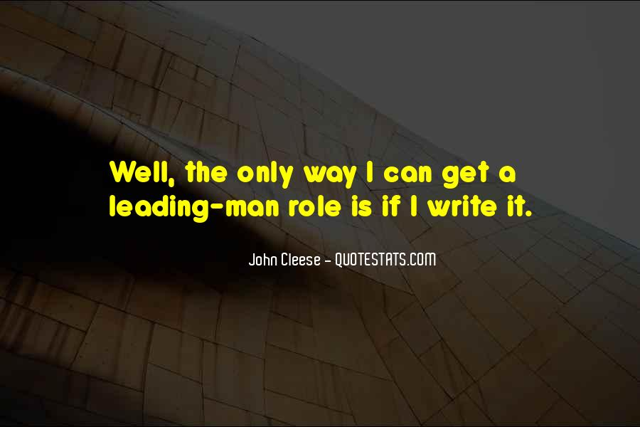 Cleese Quotes #780740
