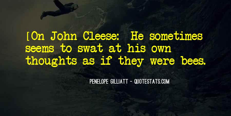 Cleese Quotes #888574