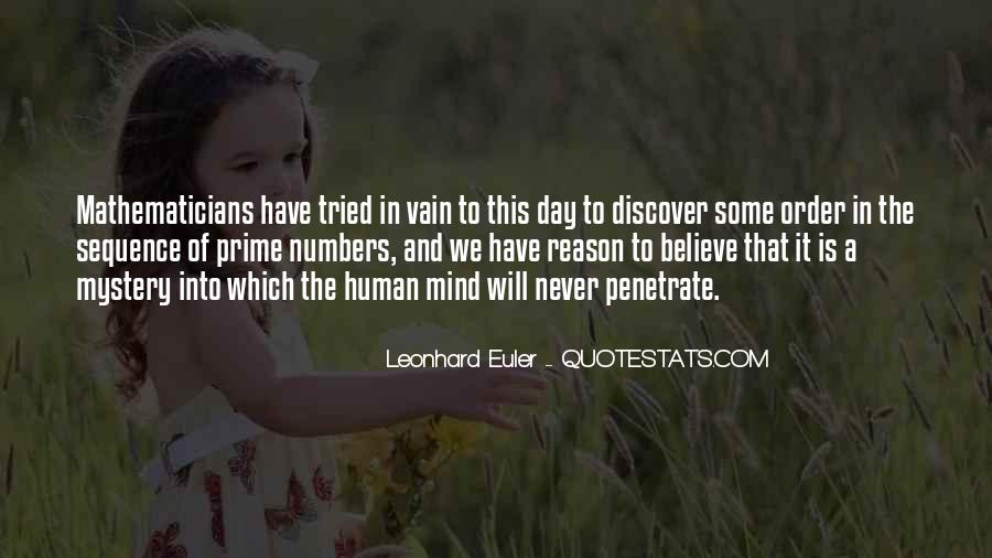 Quotes About Leonhard #1083418