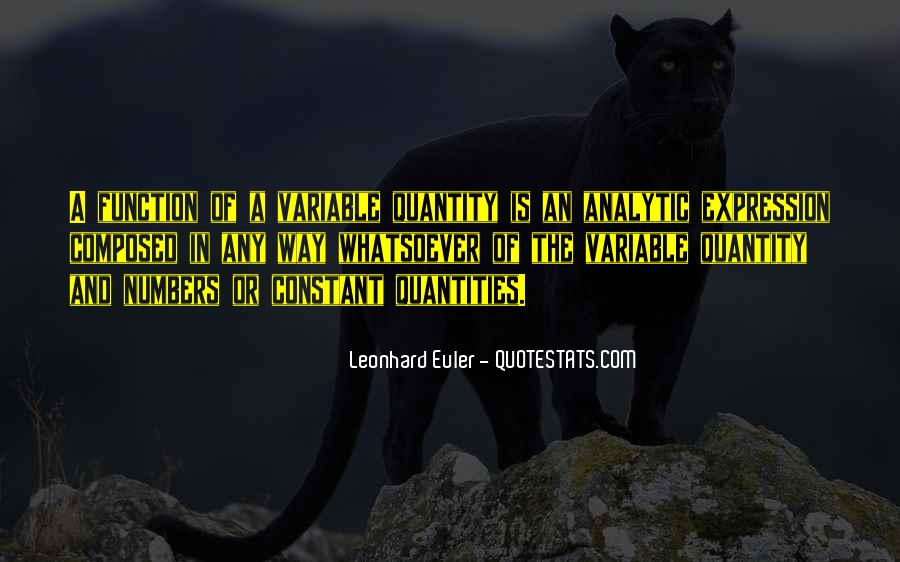 Quotes About Leonhard #1307217