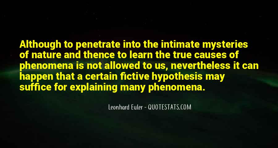 Quotes About Leonhard #132467