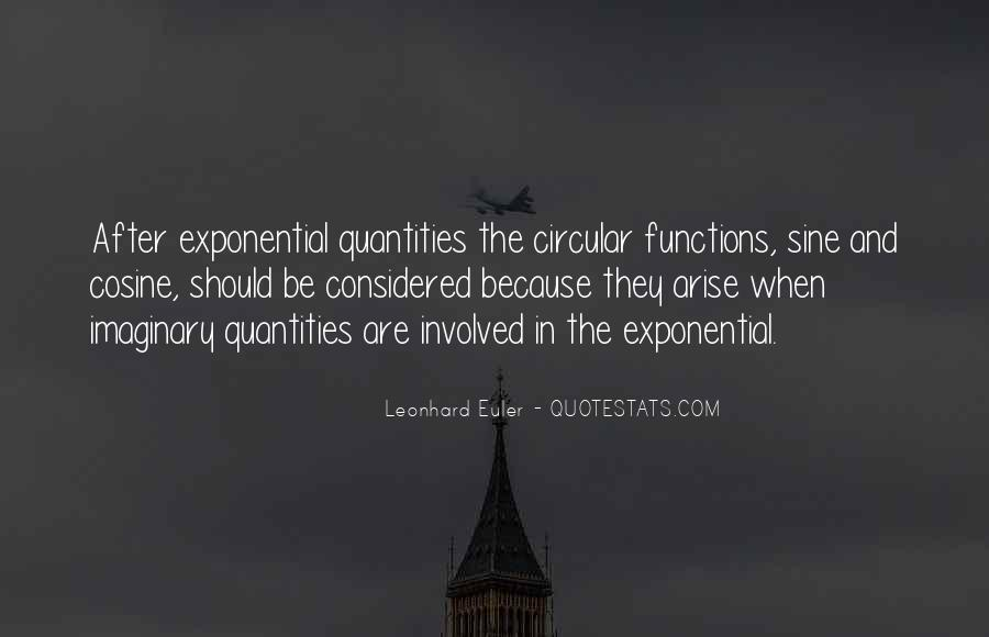 Quotes About Leonhard #729906