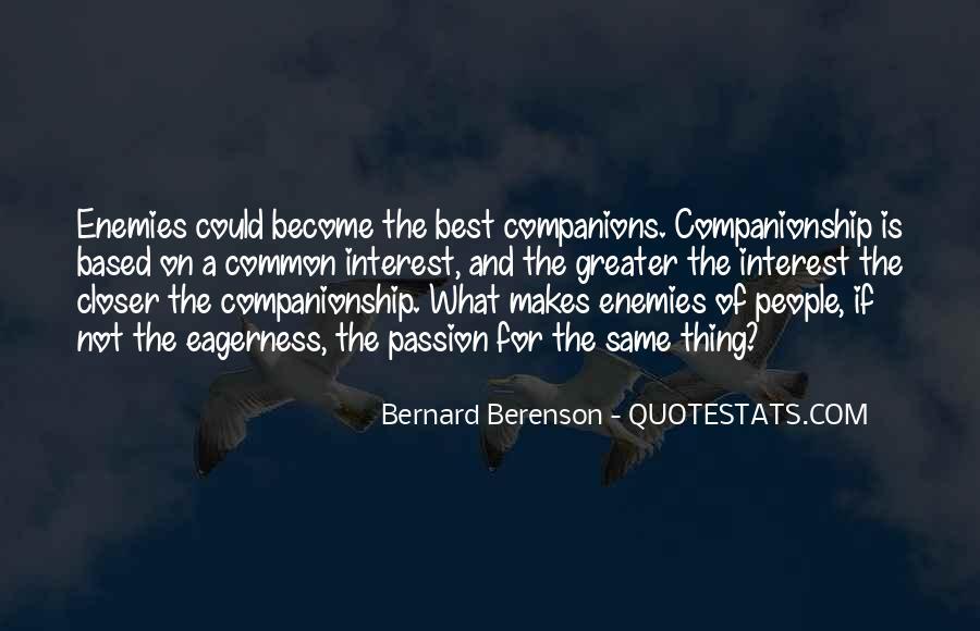 Closer To Enemies Quotes #1720153
