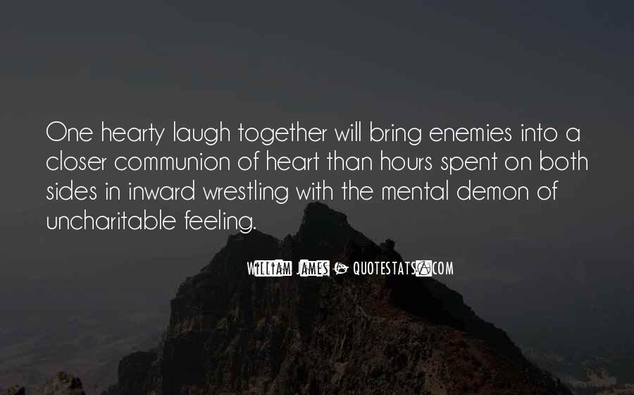 Closer To Enemies Quotes #902011