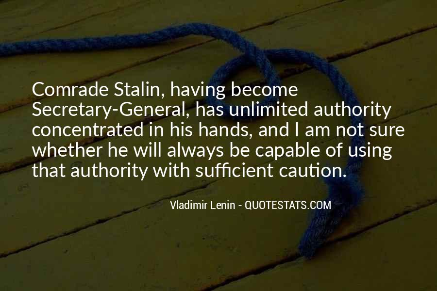 Quotes About Lenin And Stalin #1056549