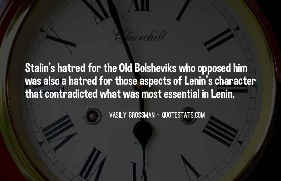 Quotes About Lenin And Stalin #1394673