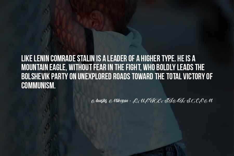 Quotes About Lenin And Stalin #1726031