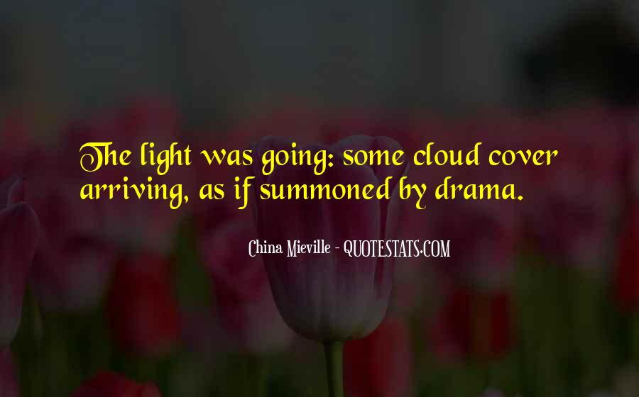 Cloud Cover Quotes #1355089