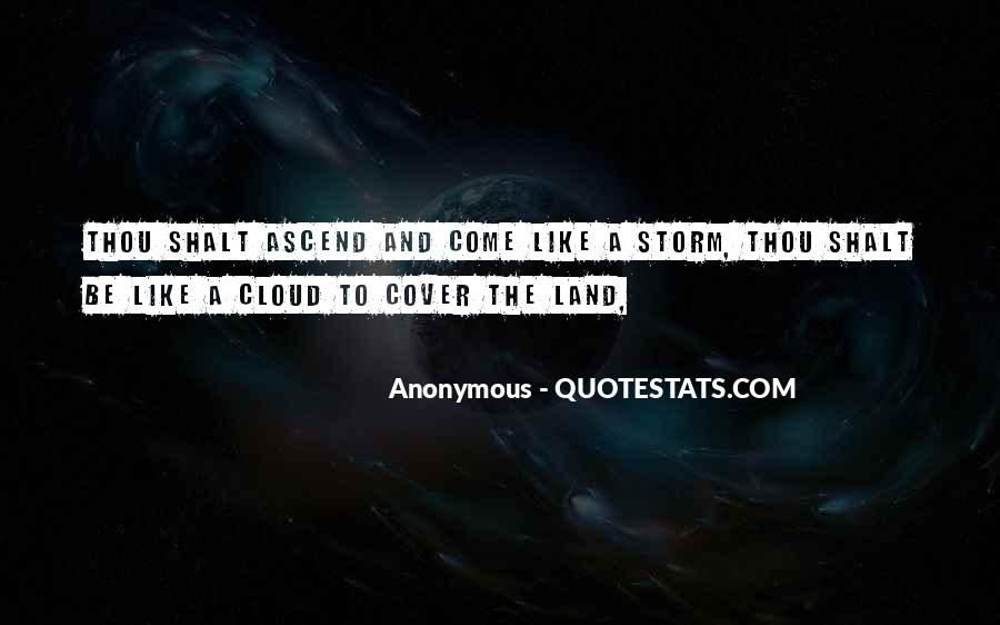 Cloud Cover Quotes #787870