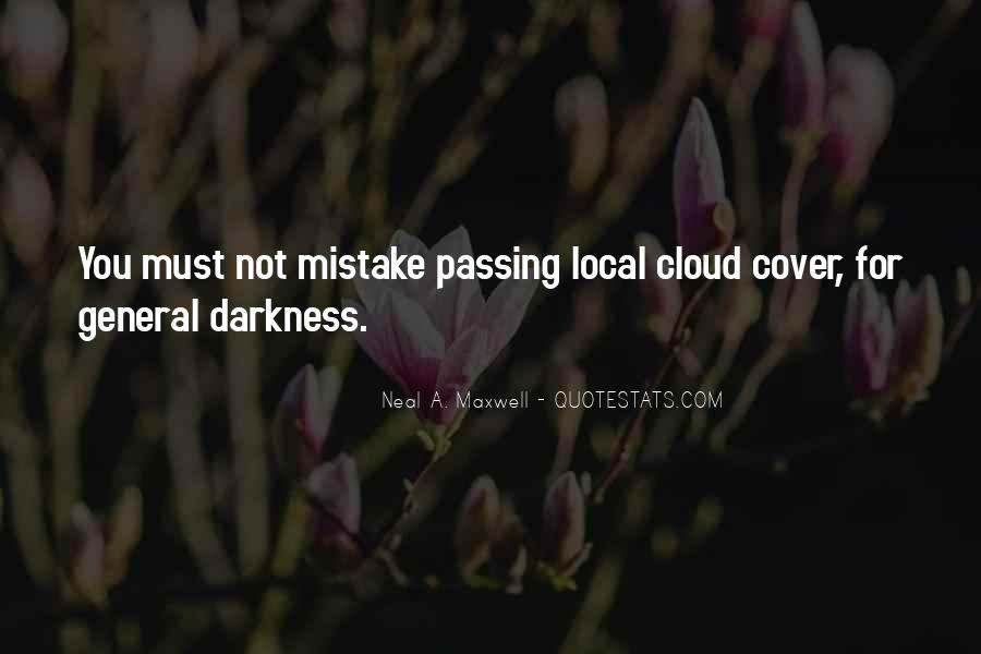 Cloud Cover Quotes #842858