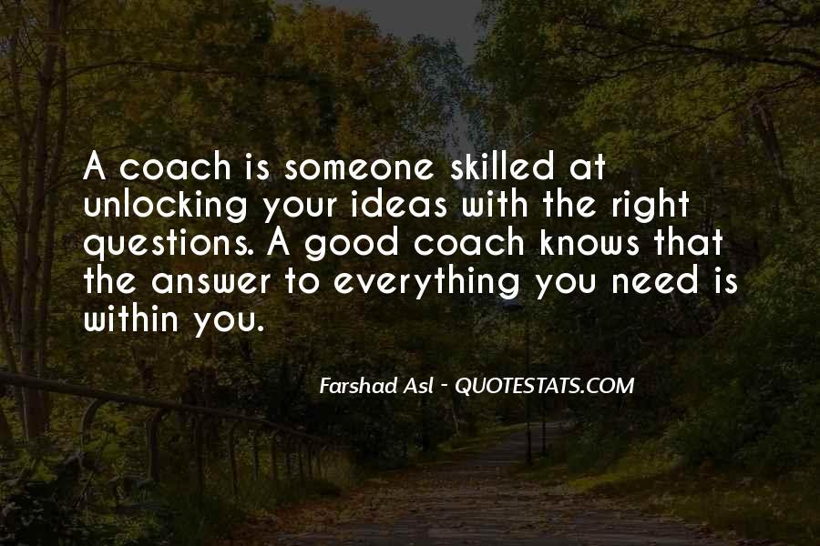 Coach Jae Quotes #39228