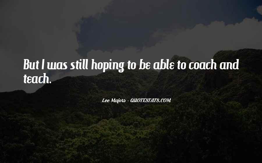 Coach Jae Quotes #83726