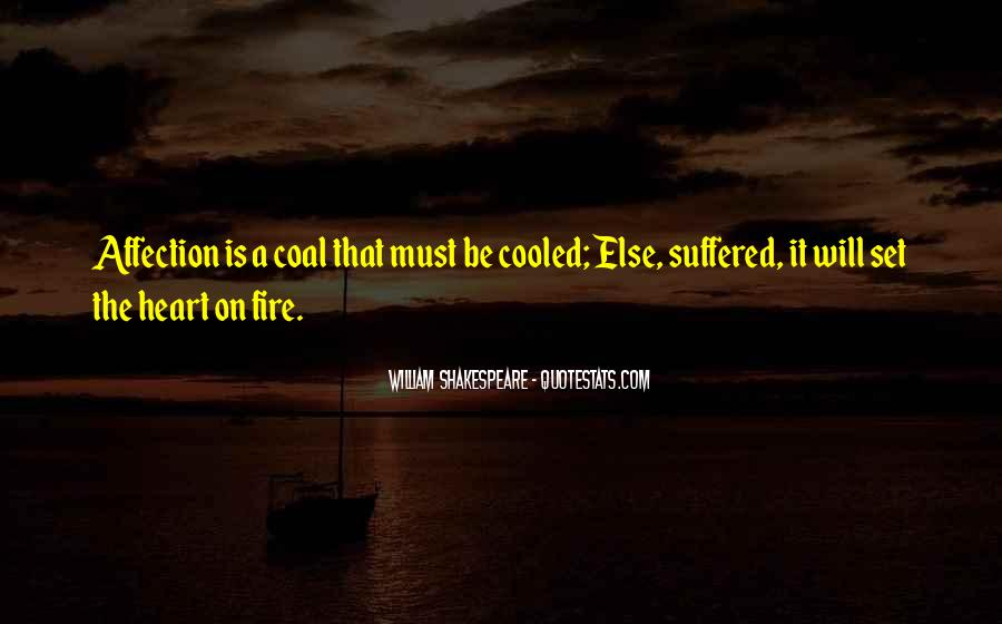Coal Fire Quotes #1256078
