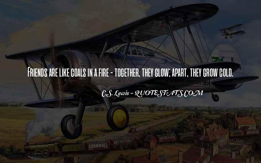 Coal Fire Quotes #1534531