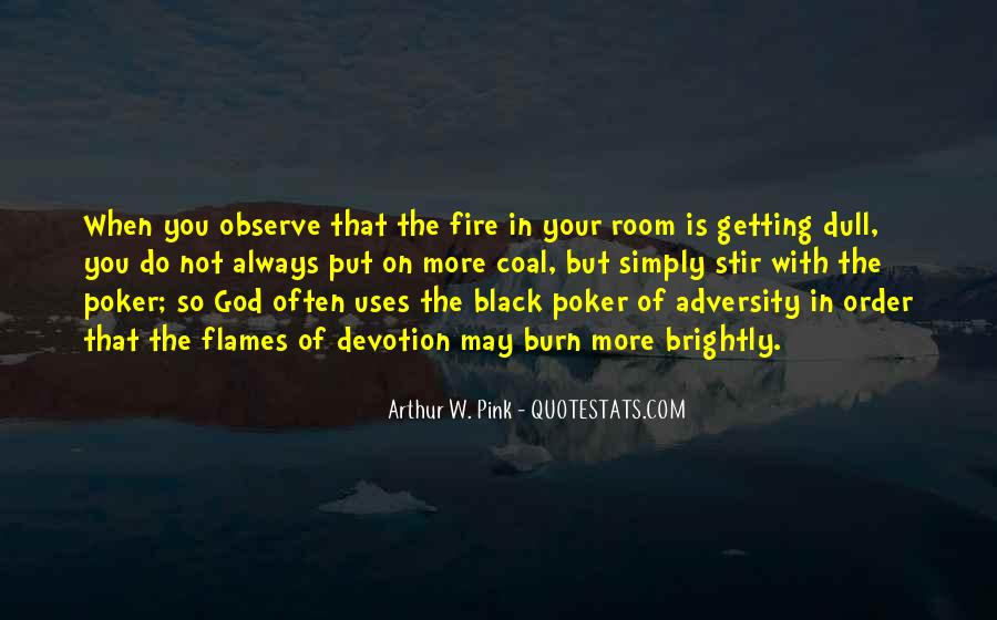 Coal Fire Quotes #1695938