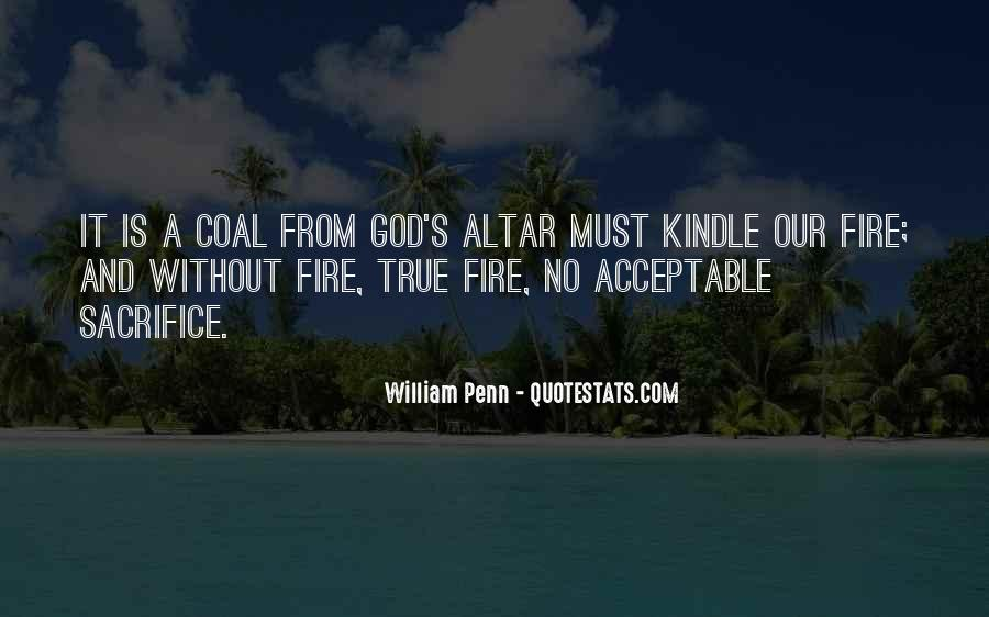 Coal Fire Quotes #1715687