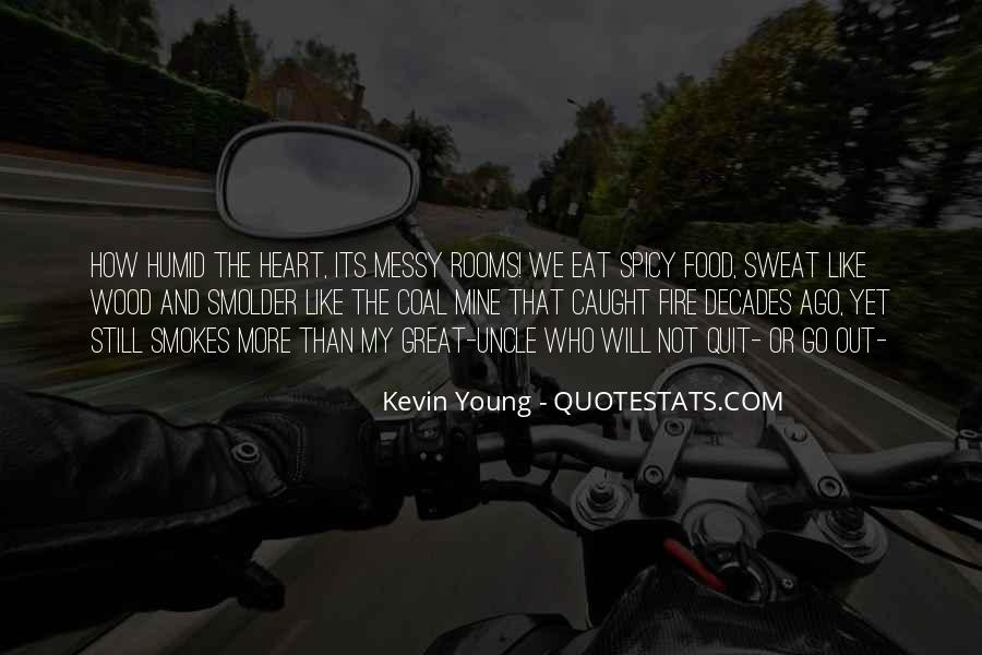 Coal Fire Quotes #2501