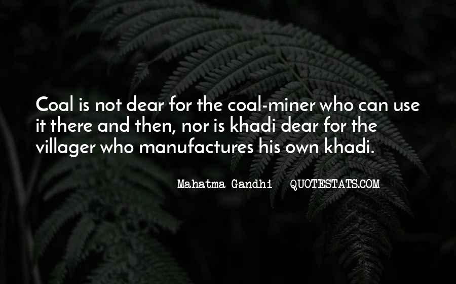 Coal Miner Quotes #1399644