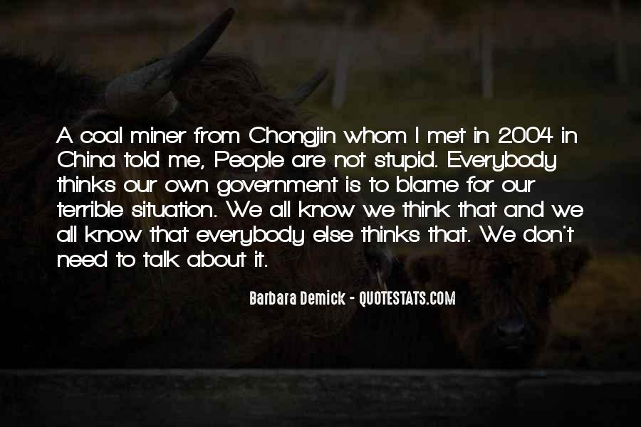 Coal Miner Quotes #1873416