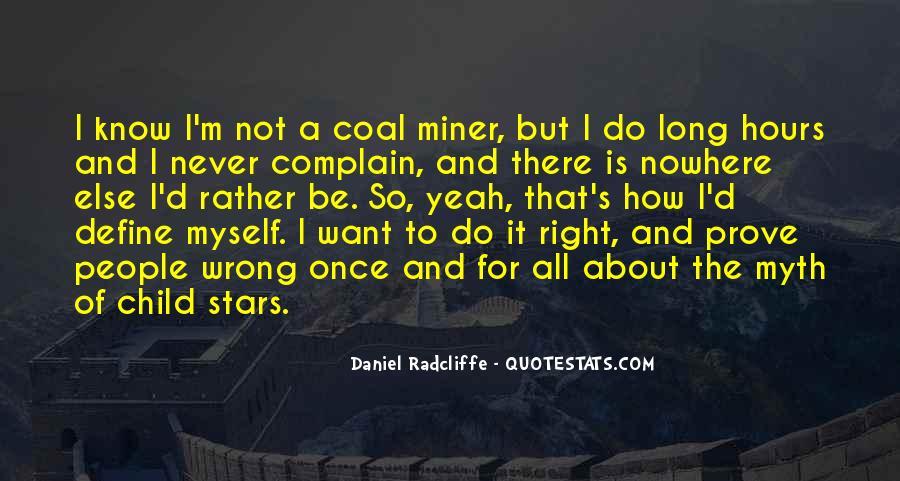 Coal Miner Quotes #79493