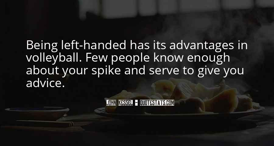 Quotes About Left Handed People #86826
