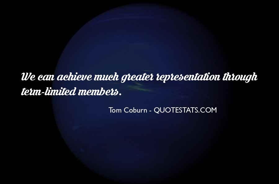 Coburn Quotes #227258